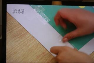 テープの貼り方
