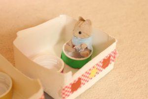 牛乳パックジェットコースター