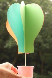 手作り気球