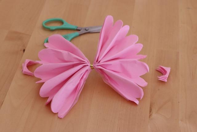 花紙のきれいな作り方