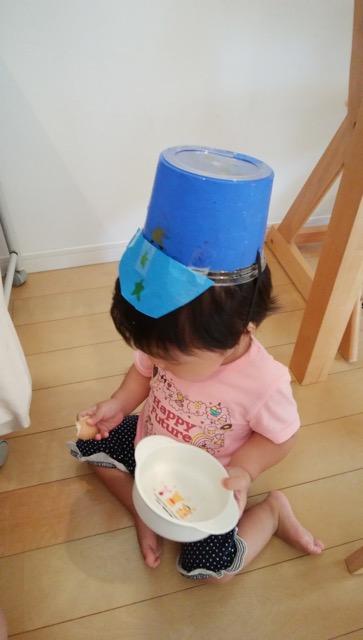 手作り警察の帽子