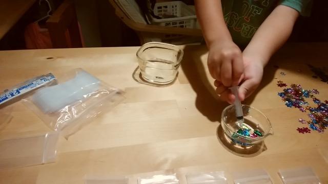 表面張力実験
