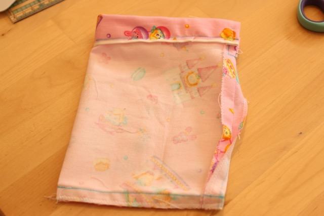 簡単巾着袋の作り方